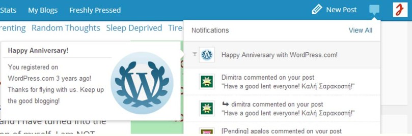3 years Blogging