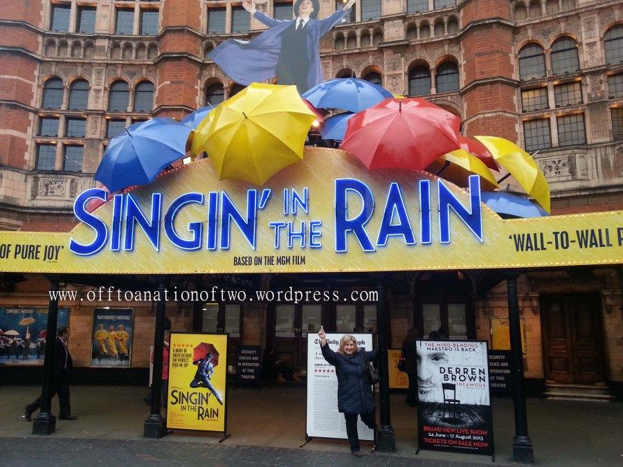 Singin in the Rain, London copy
