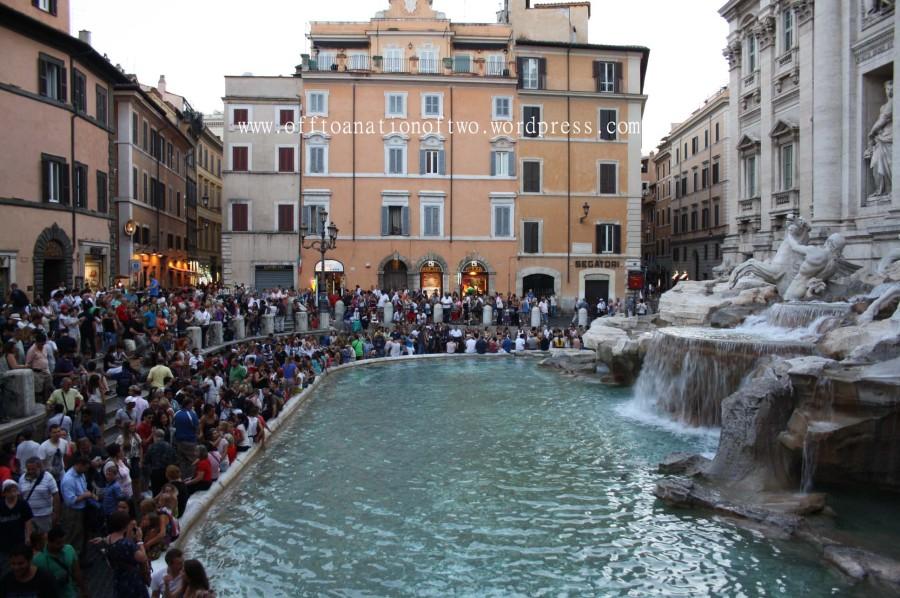 Φοντανα ντι Τρέβι, Ρώμη