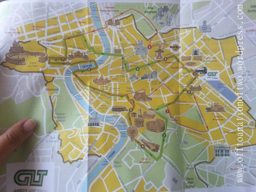Χάρτης Ρώμη