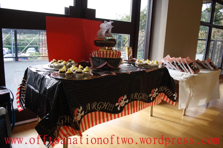 Pirate Theme Party Table