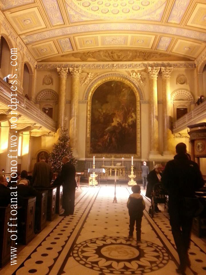 Painted Hall Chapel, Carols 2013