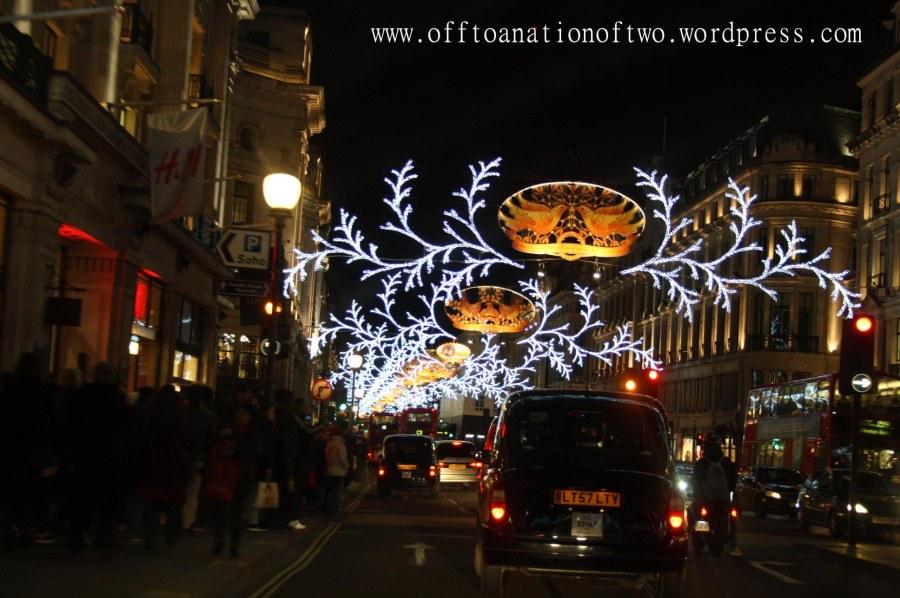 Xmas 2013 Regent Street lights