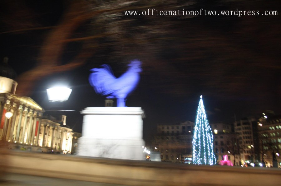 Xmas 2013 Trafalgar Square