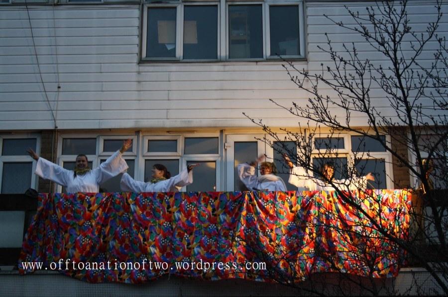 Blackheath Standard Live Nativity angels