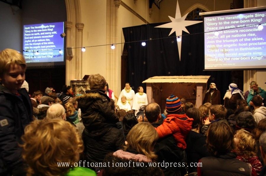 Blackheath Standard Live Nativity St John's finishing