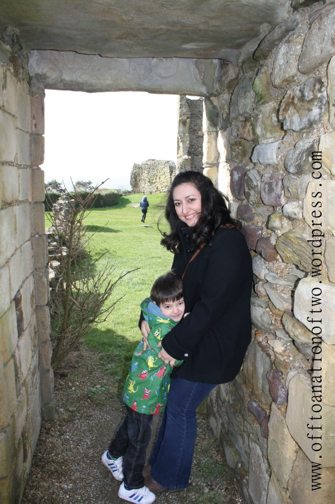 Hastings Castle door hugs