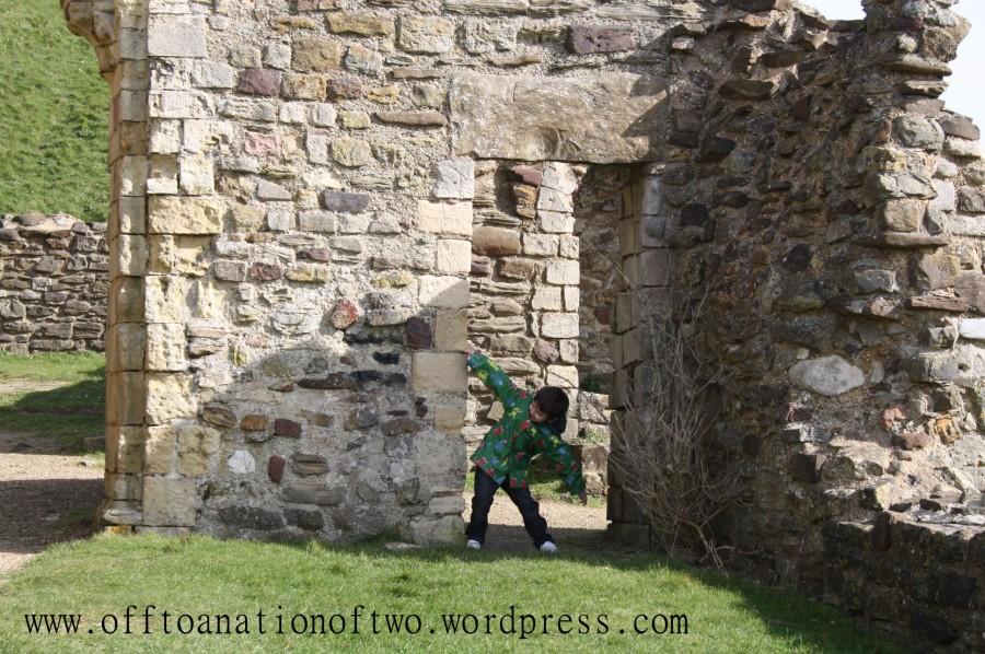 Hastings Castle door
