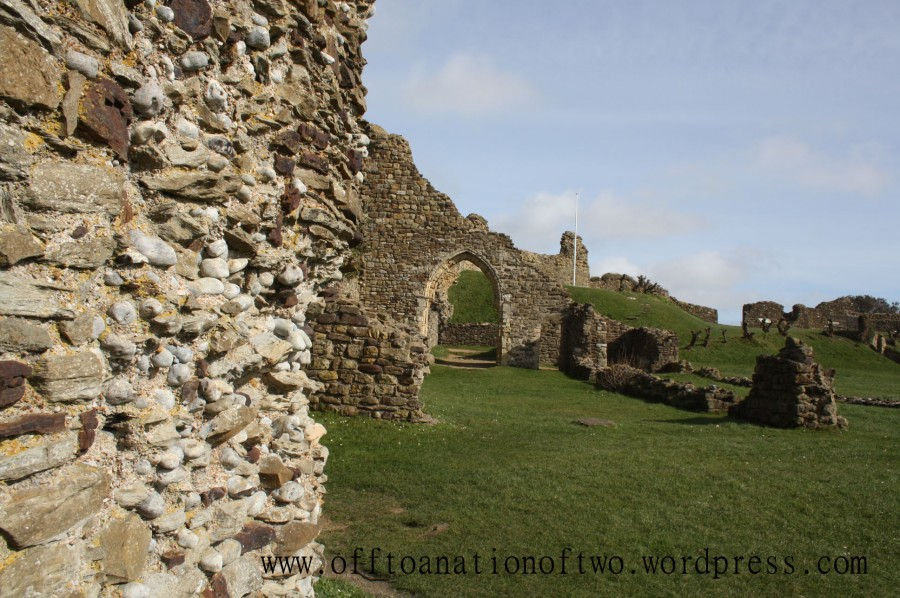 Hastings Castle ruins