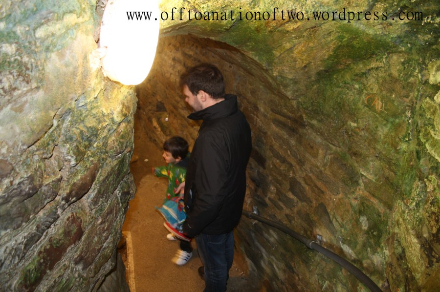 Hastings Dungeon steps