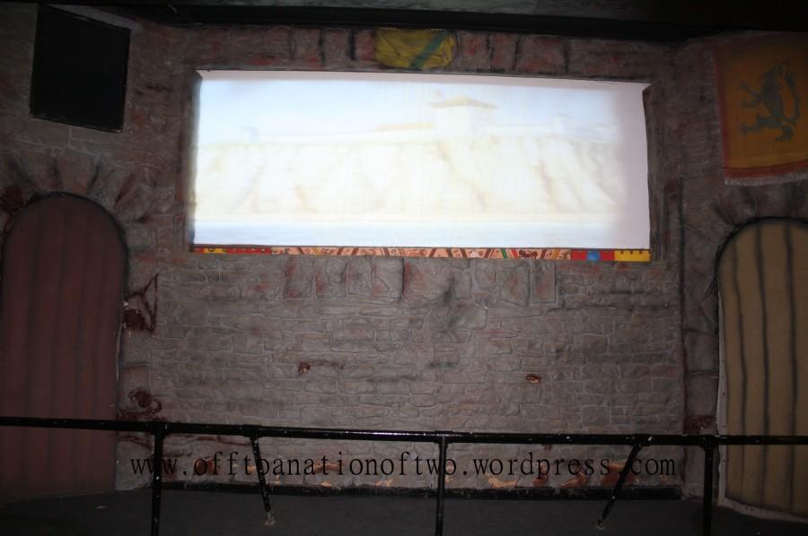 Hastings Educational movie theatre inside