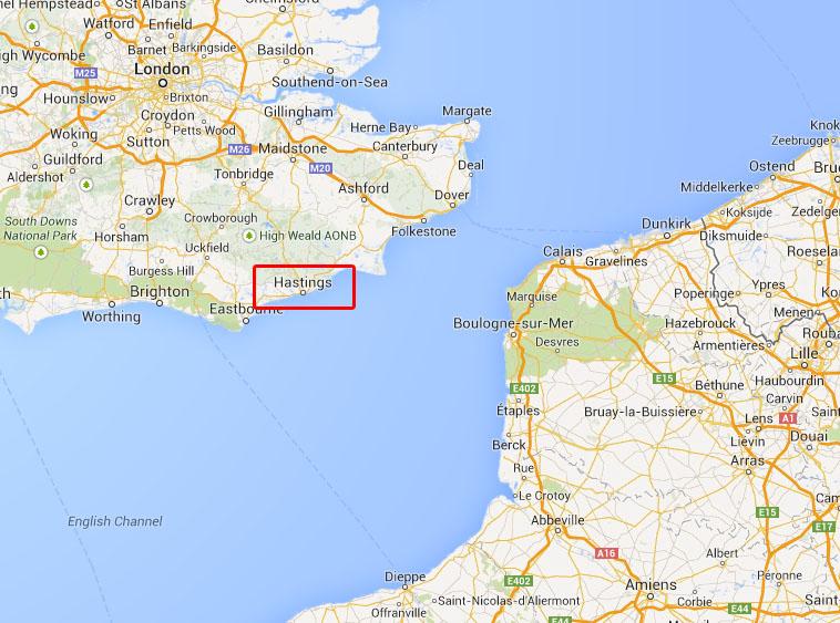 Hastings map