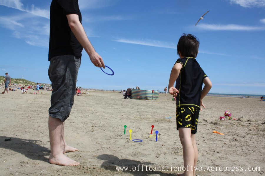 Quoits at Camber Sands