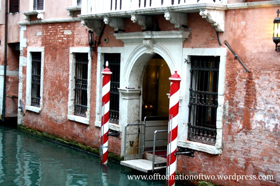 Venice candy poles