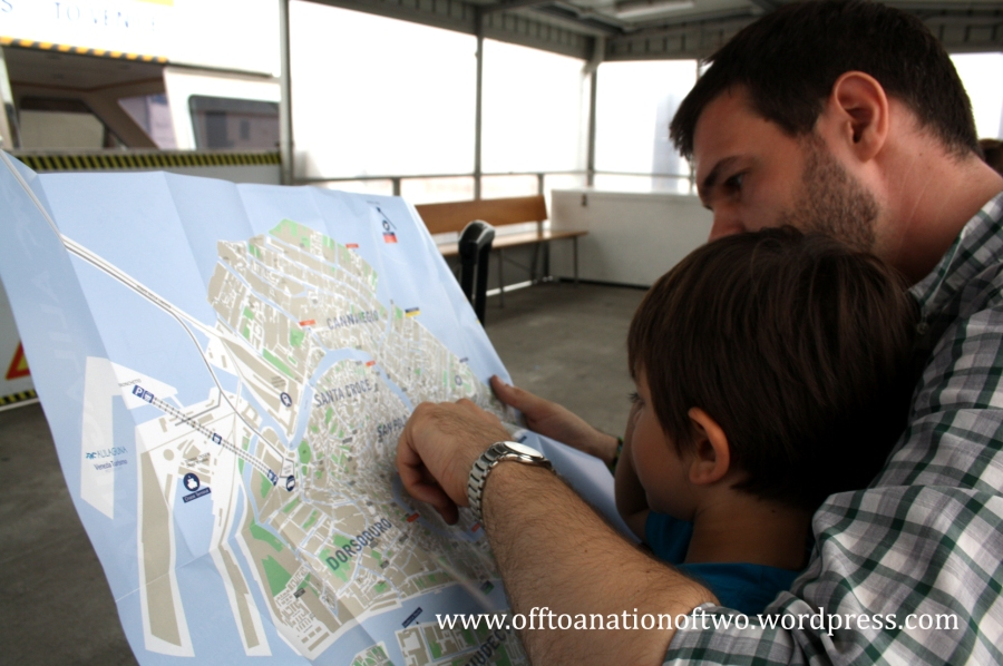 Venice map exploring