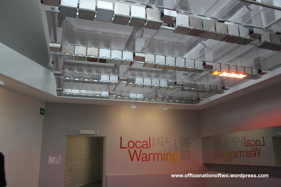 Warming biennale