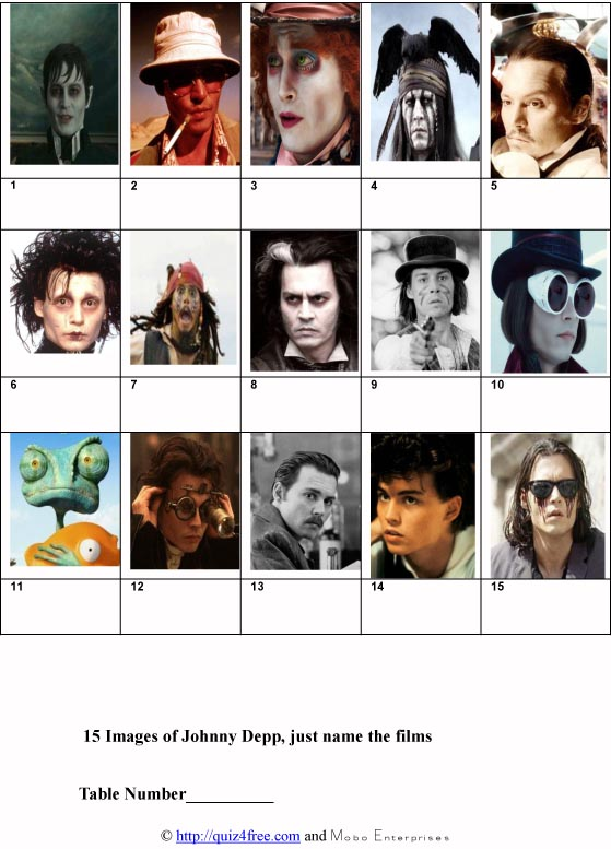 Johnny Depp Characters-1