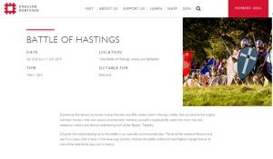 Battle of Hastings invitation